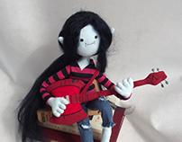 Marceline plushie
