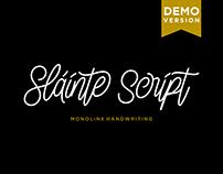 Slainte Script (Free Download)