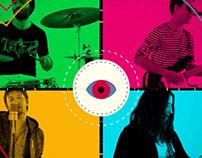 Motion Graphics - Banda de Rock Pop