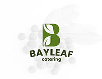 BayLeaf Catering Service - Logo Design and Brand design