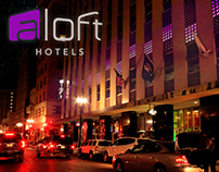 Light Installation - Aloft New Orleans Proposal 2017