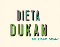 Infográfico sobre a dieta Dukan
