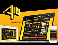Magnum 4D - Web Design 2016
