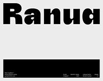 Ranua™ Type Family