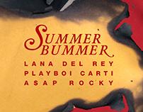 Summer Bummer (Lana Del Rey) Single Poster