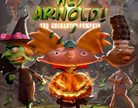 Hey Arnold! (Fake Cover #4)
