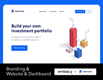 Investland Branding & Website & Dashboard