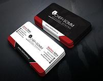 Modern and Minimalist Business card idea