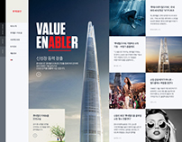 Lotte Tower Official Website Proposal