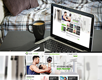 Quick view of microsite for Viva Fitnes