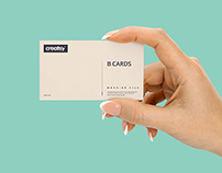 40+ Astonishing Business Card Mockup Templates PSD