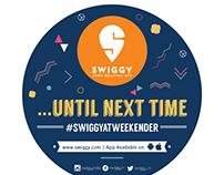 Swiggy Stickers @ Bacardi NH7 Weekender