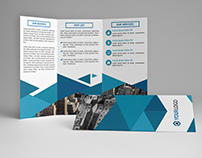 Business Triangle Trifold
