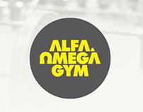 Branding Alfa & Omega GYM