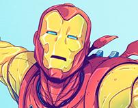 Classic Iron Man - Print/Poster
