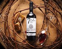 Native Wine Label Design - 7 Coline