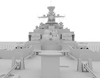 Udaloy Class Destroyer WIP