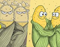 Affiche anti OGM pour les 25 ans de la FEDEVACO