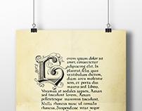 Carolina calligraphy