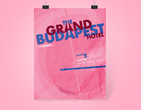 Wes Anderson Film Festival | Motion Graphics & Posters