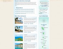 Sail-Caribbean.com Web Development