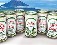 Branding Latas Toña Edición Especial