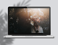 Webdesign - Wedding Photographer's website