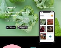 LuxMart Landing Page