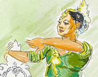 Malaysian dancer