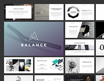 BALANCE Presentation Template (PowerPoint & Keynote)