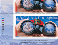 Canadian Rangers Stamp