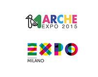 MARCHE EXPO 2015 - identity