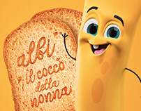 3d-Food Character - Tubotti•ITALY