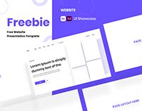Free Website & Mobile App Presentation Template