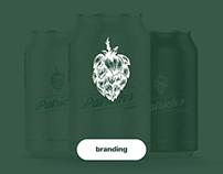Patrick's Brewery rebranding / Ребрендинг пивоварни