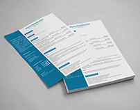 CV/Resume Design (single page)