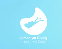 Dimaniyat Next Level Diving - Web Site Concept