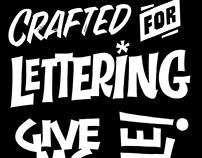 Random lettering