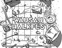 2015 Wausau Chalkfest Shirts