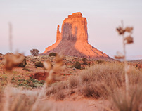 Monument Valley // Mitten Shadow
