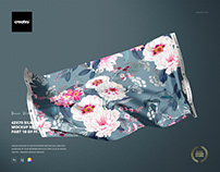 42x70' Silk Swatch Mockup Set (10/FFv.12)