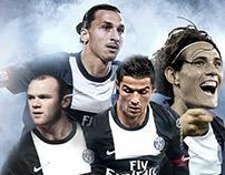Visuel fictif - Mercato 2013 - PSG