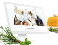 Web Design - Lawendowy Staw
