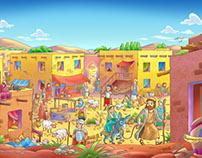 Children's Magazine ilustration - NA CPB