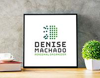 Projeto de branding para Denise Machado.