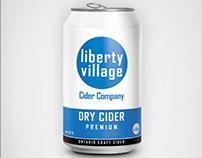 Liberty Village Cider Co Brand&Identity - Product Label
