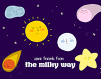 Milky way friends