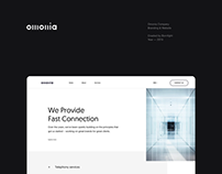 Omonia — Branding & Website