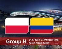 Soi kèo Ba Lan và Colombia (Poland vs Colombia)