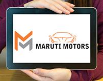 Maruti Motors Logo Design